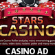 Casino Magazine Ads or flyers Templates 3 - GraphicRiver Item for Sale
