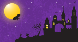 Halloween vector backgrounds