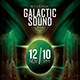Galactic Sound Flyer V2 - GraphicRiver Item for Sale