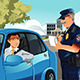 Traffic Violation - GraphicRiver Item for Sale