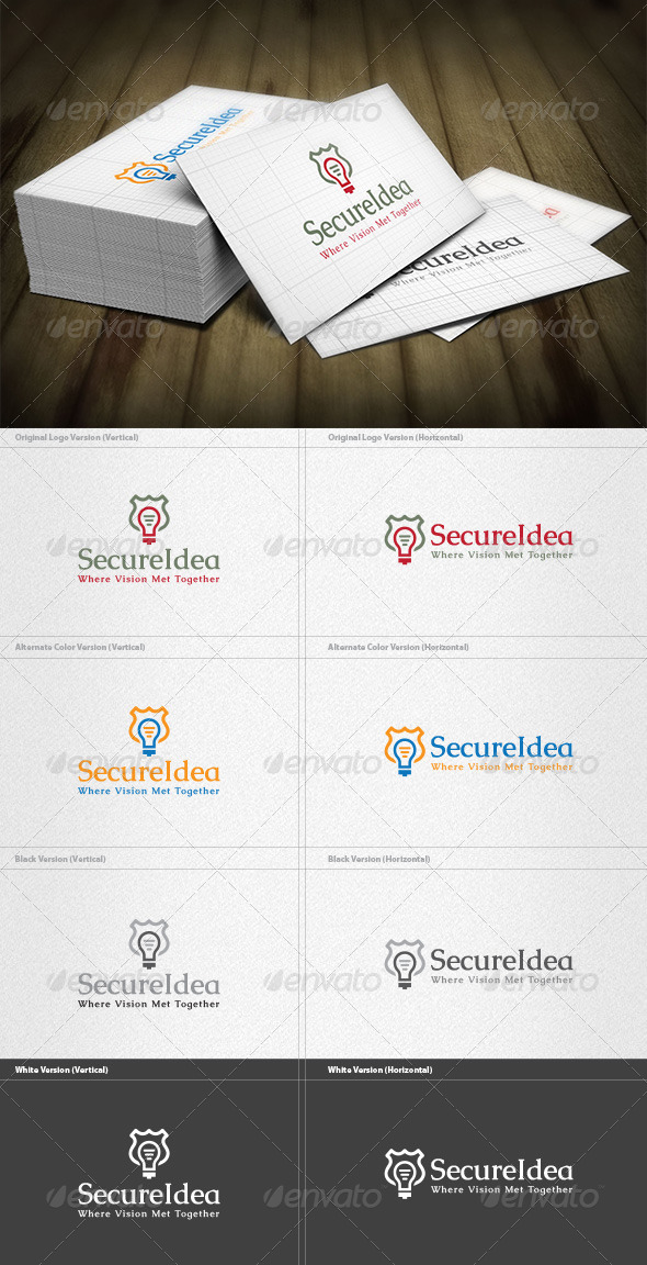 GraphicRiver Secure Idea Logo 5922957