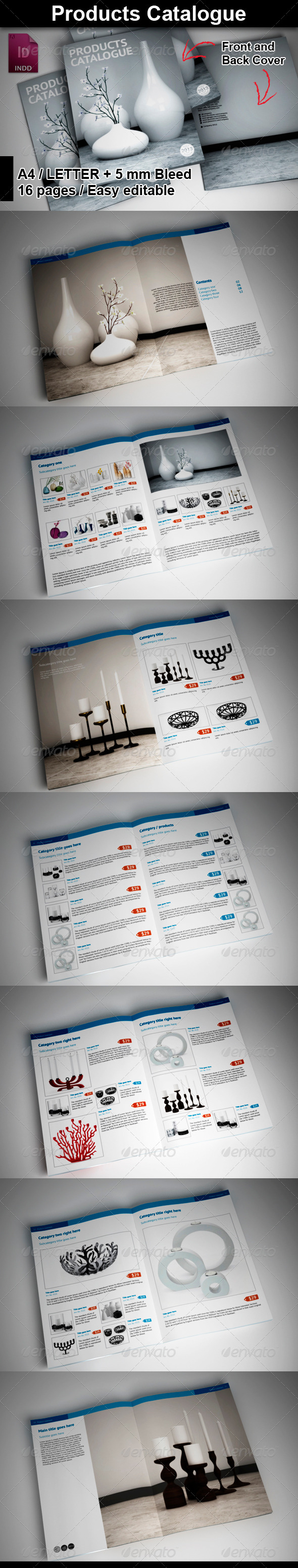 GraphicRiver Product Catalogue 5923629