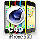 Apple iPhone 5C CINEMA 4D - 3DOcean Item for Sale