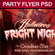 Halloween Fright Night Party Flyer Template - GraphicRiver Item for Sale