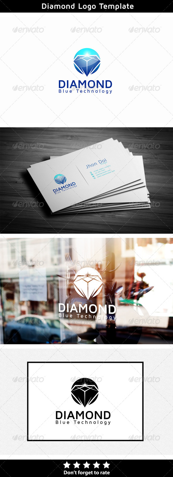 Diamond - Objects Logo Templates