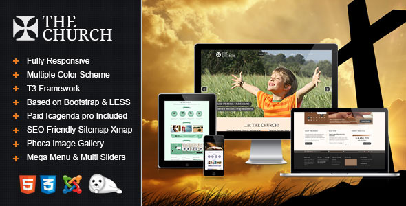 The Church - Responsive Joomla Template