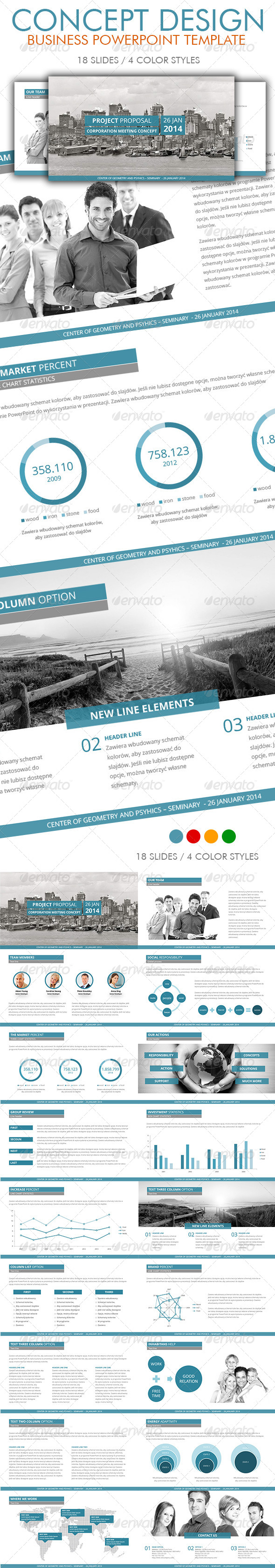 GraphicRiver Business PowerPoint Template 5925266