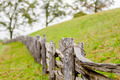 Rustic home made split rail fence in the mountains of North Caro - PhotoDune Item for Sale