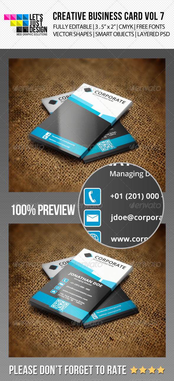 GraphicRiver Creative Business Card Vol 7 5927690