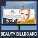 Beauty Center & Spa Business Billboard - GraphicRiver Item for Sale