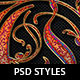 Royal Decorative Photoshop Layer Styles - GraphicRiver Item for Sale