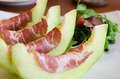 Italian appetizer, ham with melon - PhotoDune Item for Sale