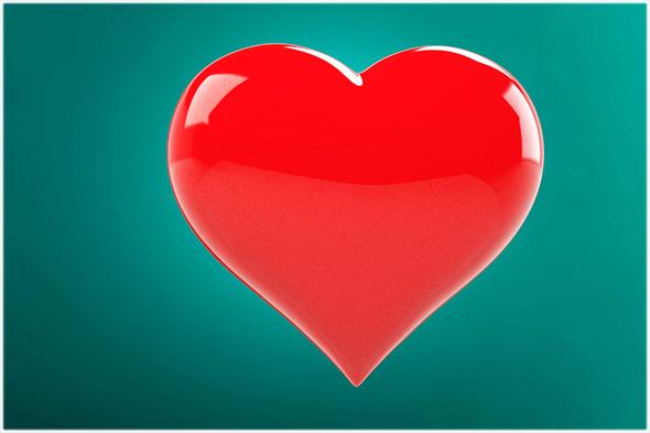 3DOcean 3D Love Heart 5928385
