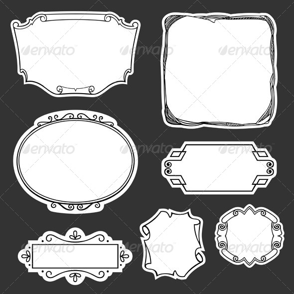 GraphicRiver Decorative Frames 5923484