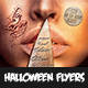 Halloween Flyer Templete V4 - GraphicRiver Item for Sale