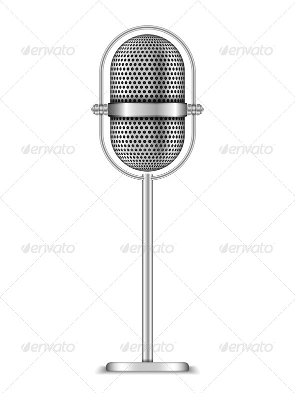 GraphicRiver Microphone 5929184