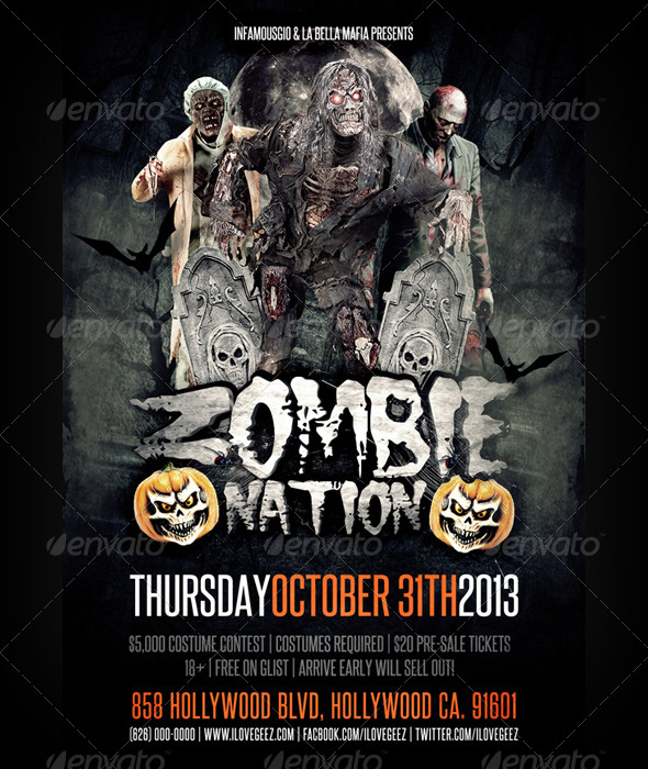 GraphicRiver Zombie Nation 5891722