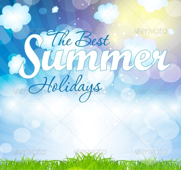 GraphicRiver Summer Holidays Vector Background 5934032