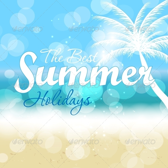 GraphicRiver Summer Holidays Vector Background 5934038