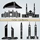 Dubai Landmarks and Monuments - GraphicRiver Item for Sale