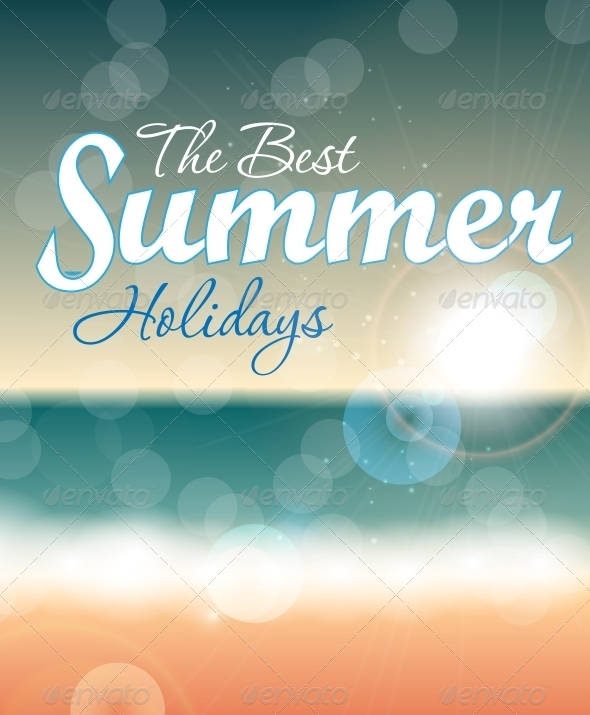 GraphicRiver Summer Holidays Vector Background 5934268