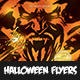 Halloween Flyer Templete V3 - GraphicRiver Item for Sale