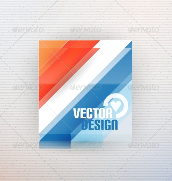 GraphicRiver Vector 3D Glass Shape for Business Template 5934294