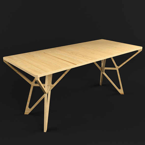 3DOcean Hristo Table 5934344