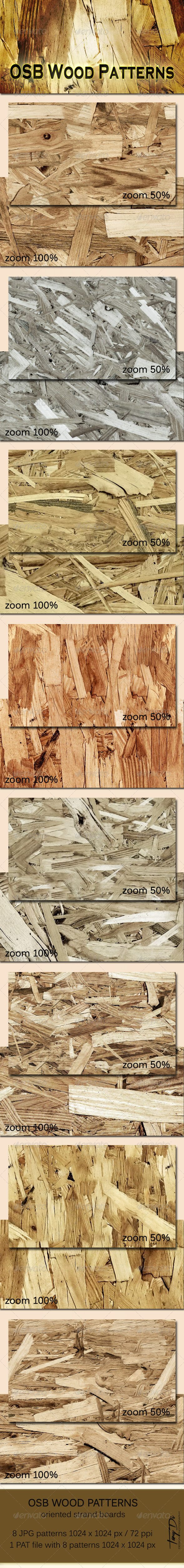 GraphicRiver OSB Wood Patterns 5934391