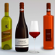 3 Wine Bottles v2 with Glass - GraphicRiver Item for Sale