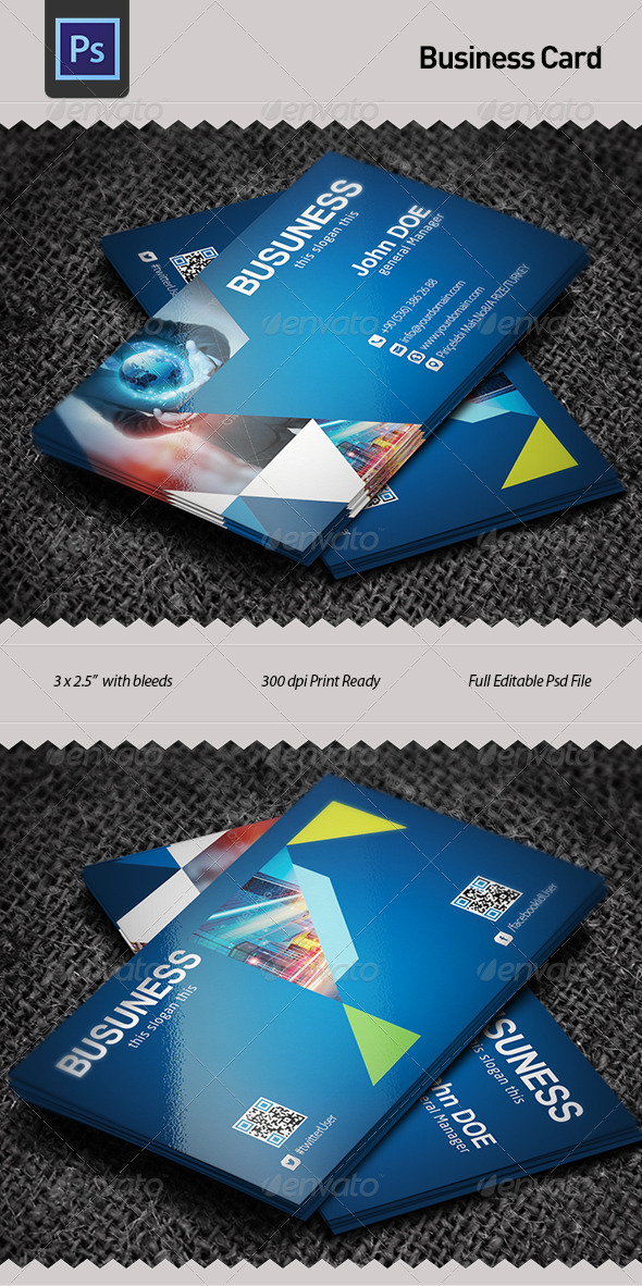 GraphicRiver business Card 5935832