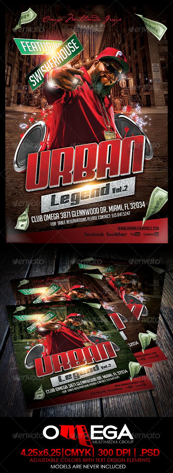 GraphicRiver Urban Legend Vol.II 5901529