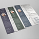 Resume Set in 3 color variations - GraphicRiver Item for Sale