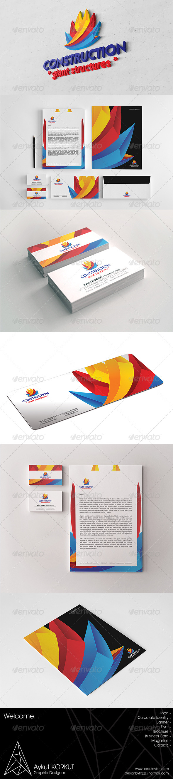 GraphicRiver Construction Corporate Identity Package 5937091