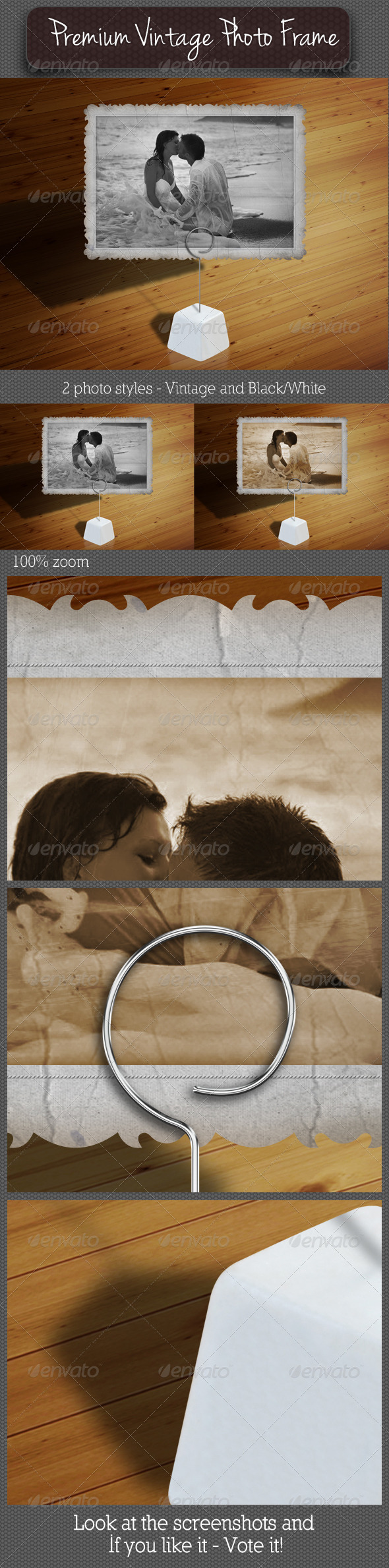 GraphicRiver Premium Vintage Photo Frame 02 5939135