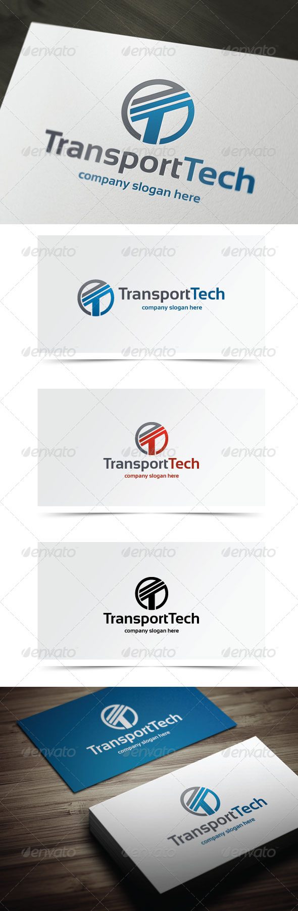 GraphicRiver Transport Tech 5939414
