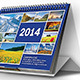 Desk Calendar 2014 - GraphicRiver Item for Sale