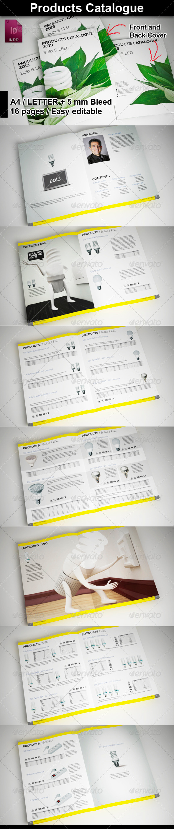 GraphicRiver Products Catalogue 5903328