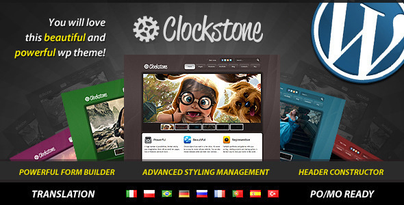 Clockstone - Ultimate Wordpress Theme