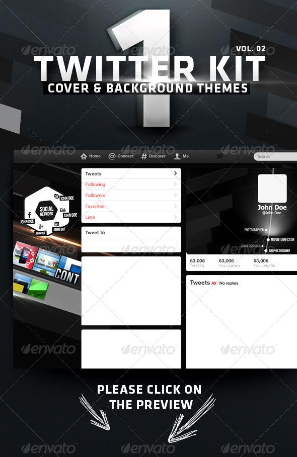 GraphicRiver Twitter Kit Vol 02 5942965