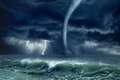 Tornado, lightning, sea - PhotoDune Item for Sale