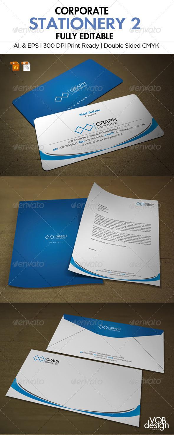 GraphicRiver Corporate Stationery 2 5944150