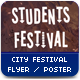 Students City Festival Flyer / Poster - GraphicRiver Item for Sale