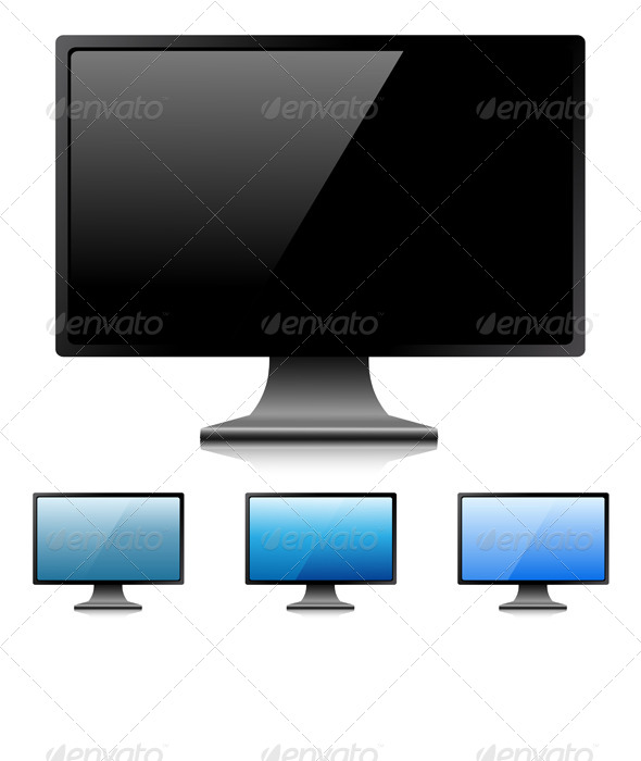 GraphicRiver Digital Monitor 5944271