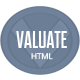 Valuate Modern HTML Theme - ThemeForest Item for Sale