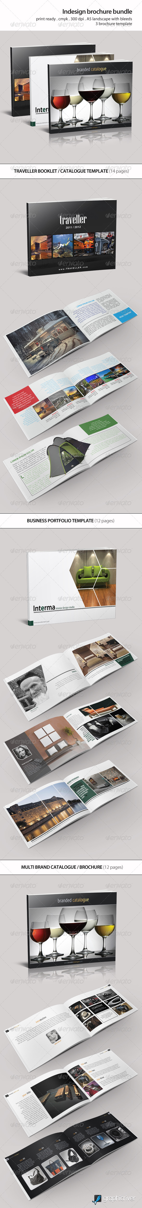 GraphicRiver Indesign Brochure Bundle Vol 1 5947218