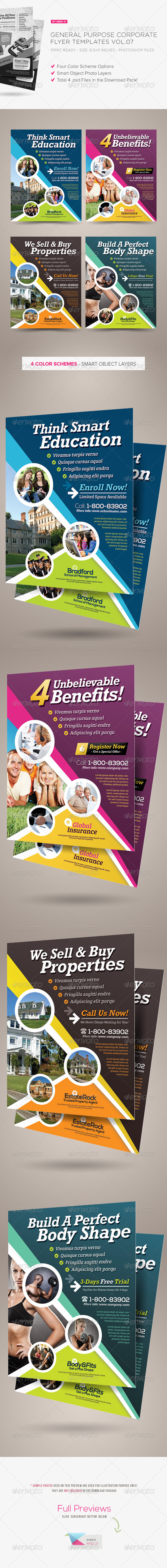 General Purpose Corporate Flyer Vol.07 - Corporate Flyers