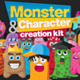 Monster and Character Creation Kit - GraphicRiver Item for Sale