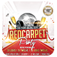 Red Carpet Party 2 | Flyer + Facebook Cover - GraphicRiver Item for Sale