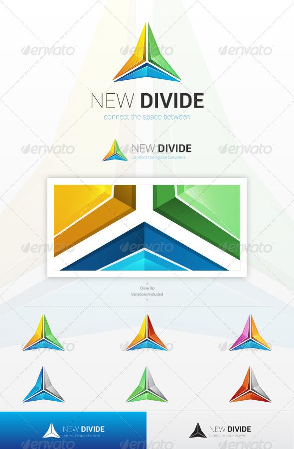 GraphicRiver New Divide Logo 5951798